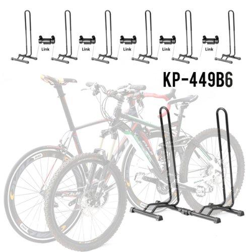 Best Free Standing Bike Rack Adjustable 1 6 Bike Floor Parking