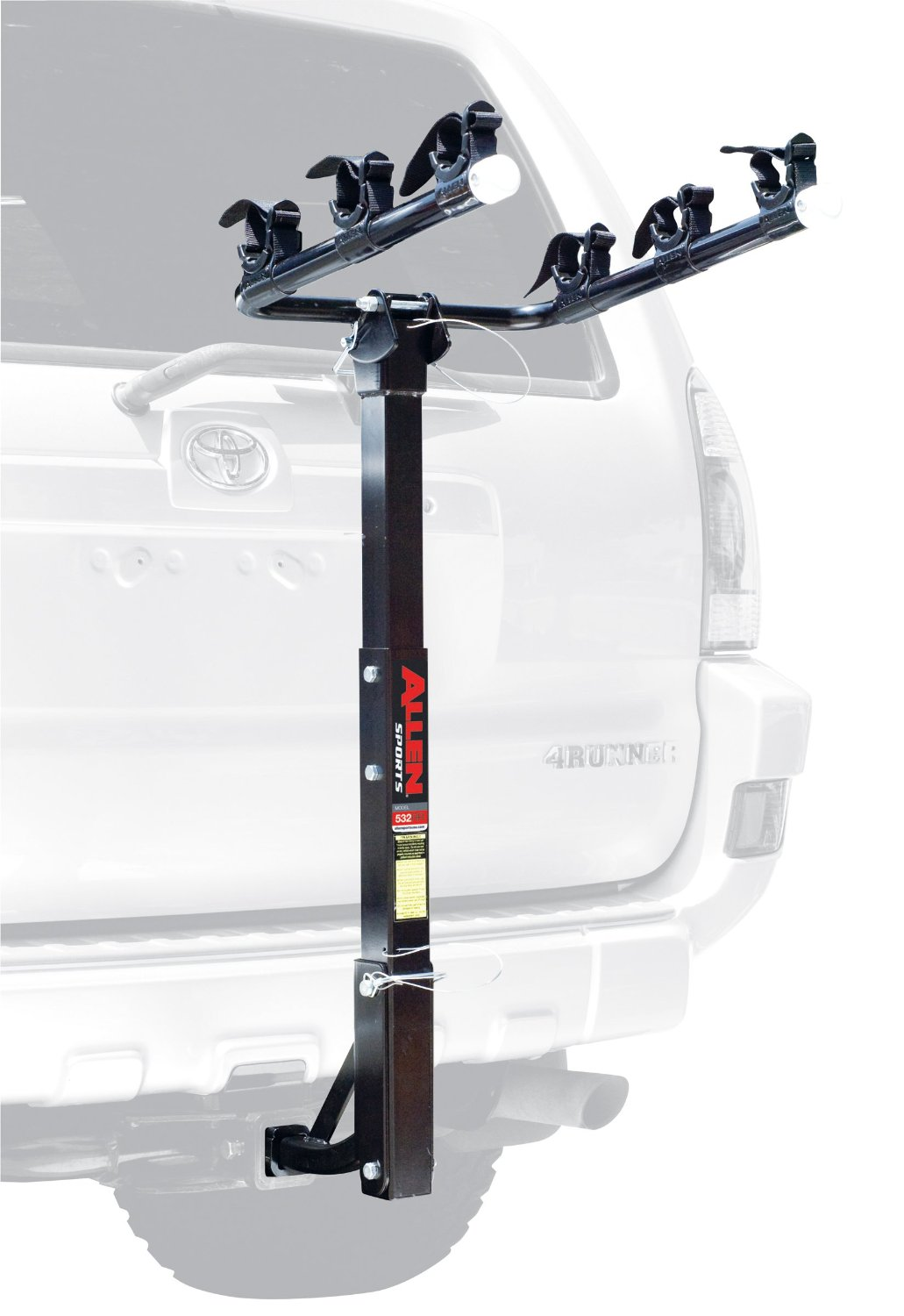 Allen Sports Deluxe 3-Bike Hitch Mount Bike Rack